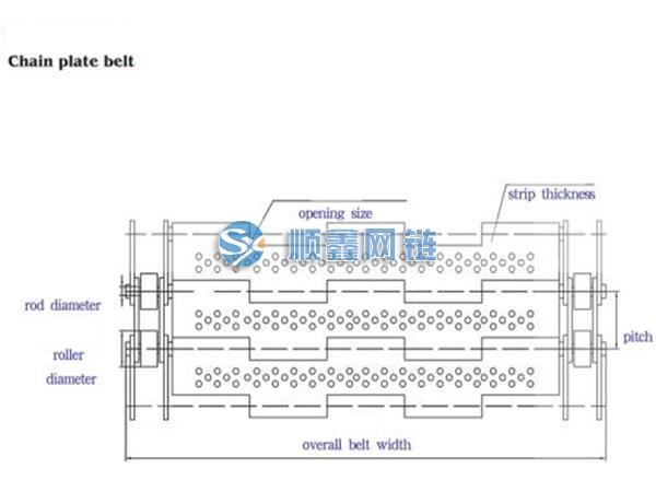 链板结构图