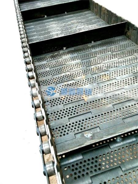碳钢冲孔链板
